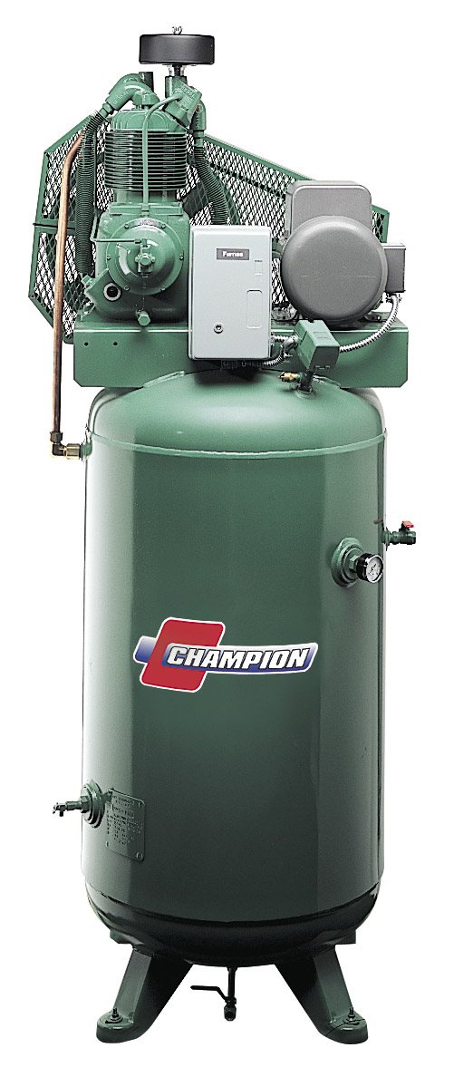Champion Vertical Compressor