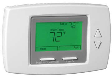 honeywell digital fan coil thermostats touch screentb6575. Black Bedroom Furniture Sets. Home Design Ideas