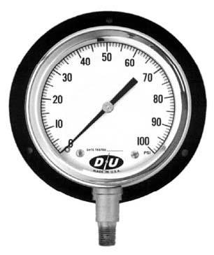 Pneuline Large Pressure Gauges Tridicator Gauges And