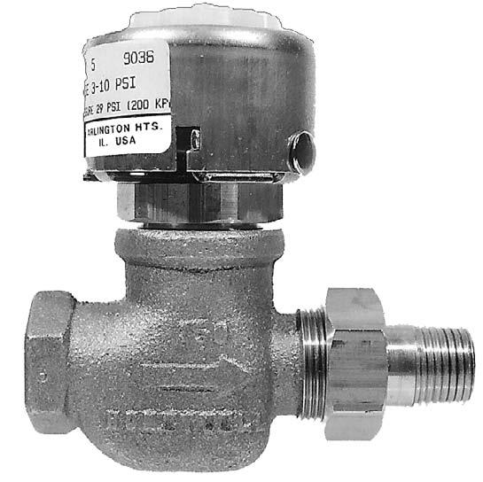 Honeywell pneumatic valve and actuator repair parts