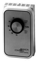 Line Or Low Voltage Humidistats Honeywell Johnson
