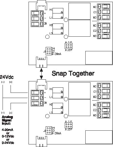 electronic or pwm in relay out signal transducers