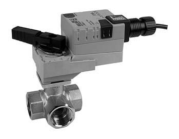 Honeywell Johnson Belimo Motorized Ball Valves